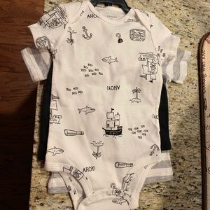 Carter's One Pieces - Carters Three Piece Onesie Set